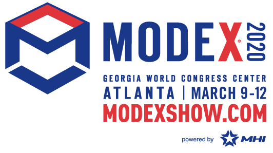 Drop by and visit us at Booth #6579 at Atlanta, GA on March 9-12, 2020 for Modex 2020
